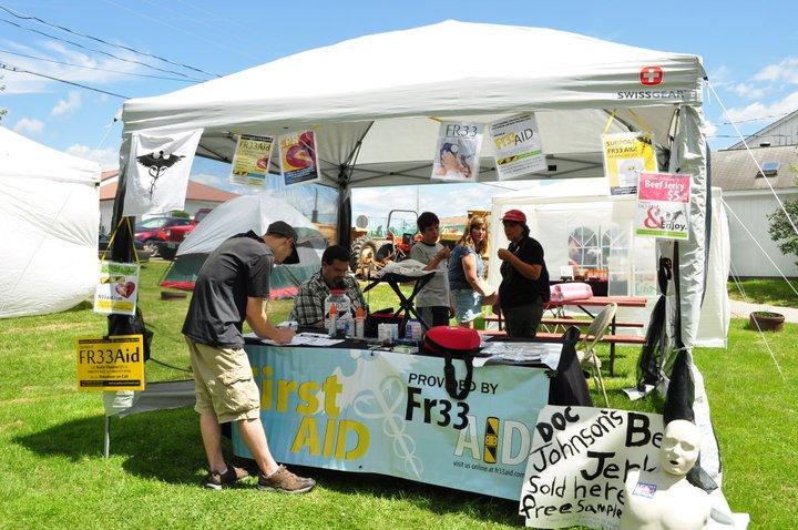 Fr33 Aid at Porcfest 2011