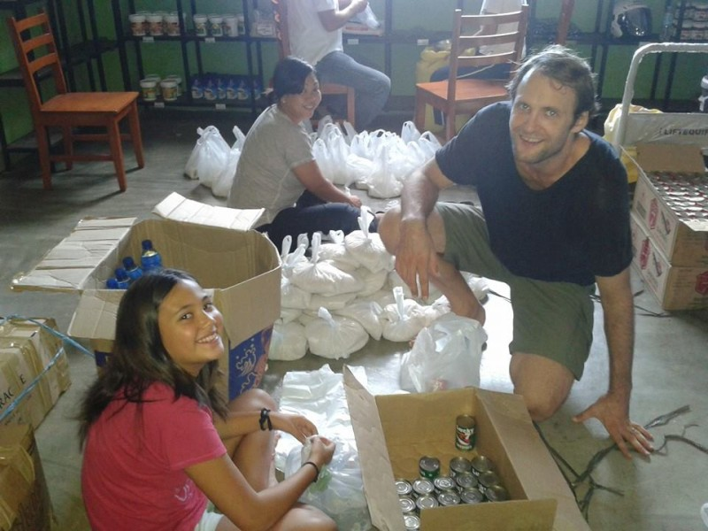 Packing more goods for delivery. Photo by Raffy Ruiz.