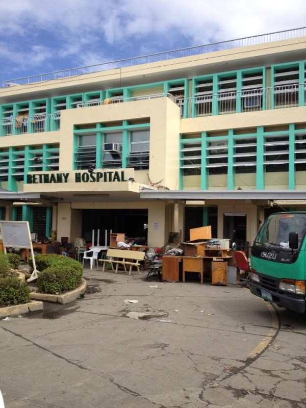 A hospital in Tacloban that needs help. Photo by Rochelle de Leon.