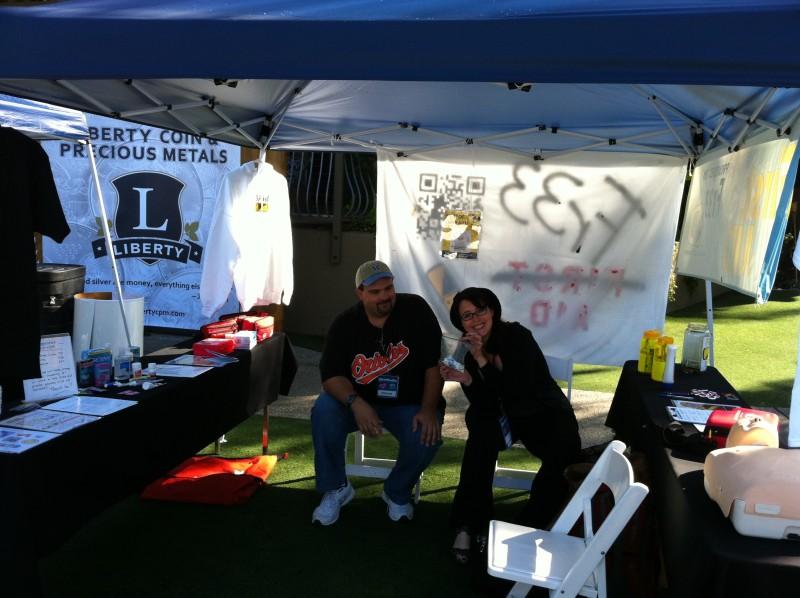 Chip and Katie at Libertopia 2012
